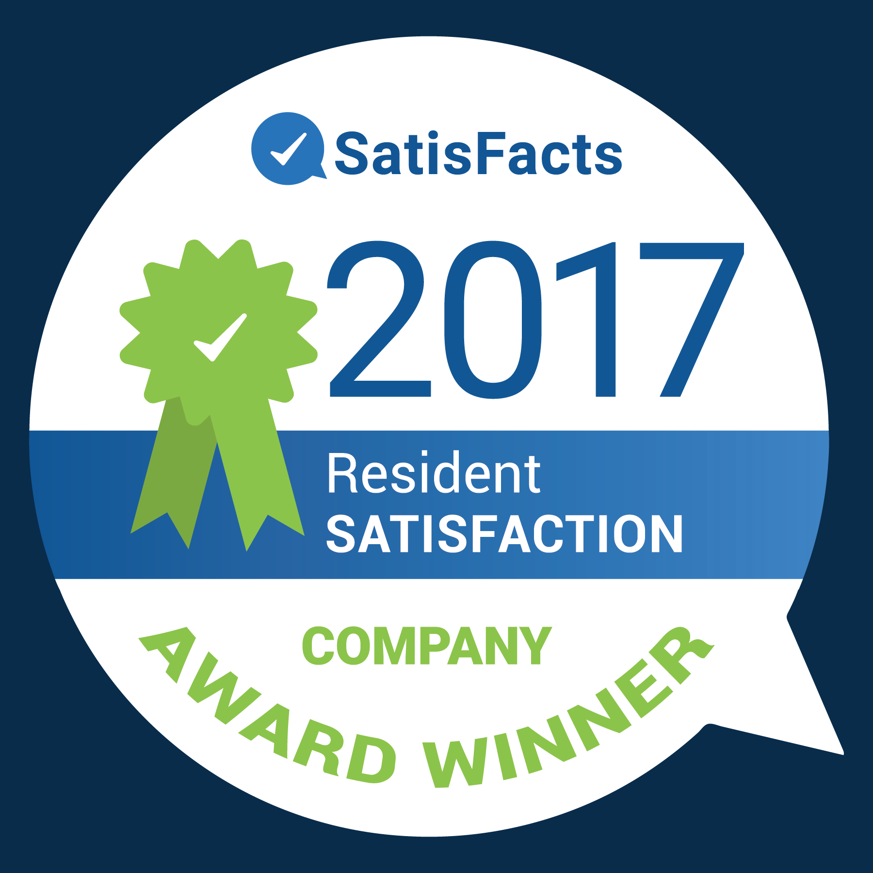 SatisFacts Company Award 2017