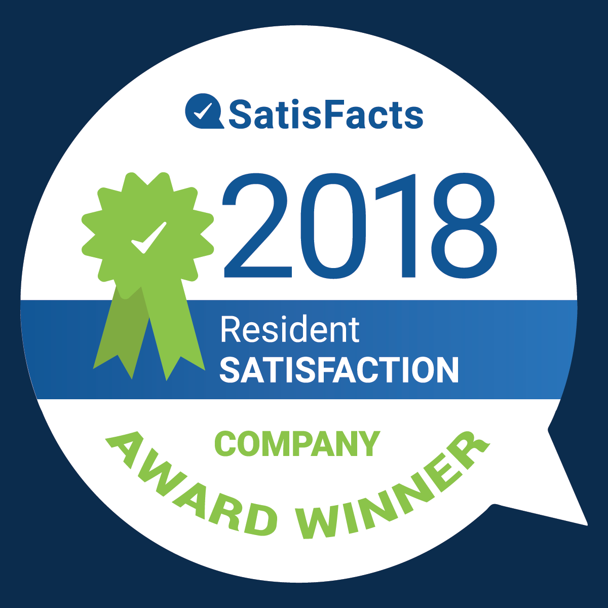 SatisFacts Company Award 2018